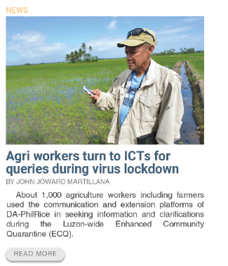 Agri workers turn to ICTs for queries during virus lockdown
