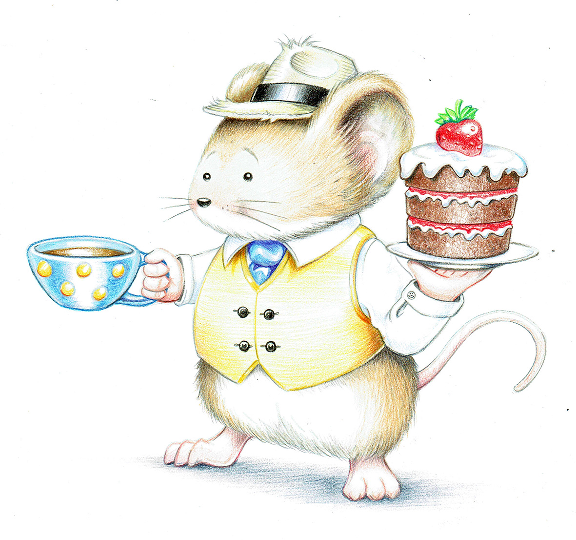 Mr. Mouse Illustration by Dave Smith