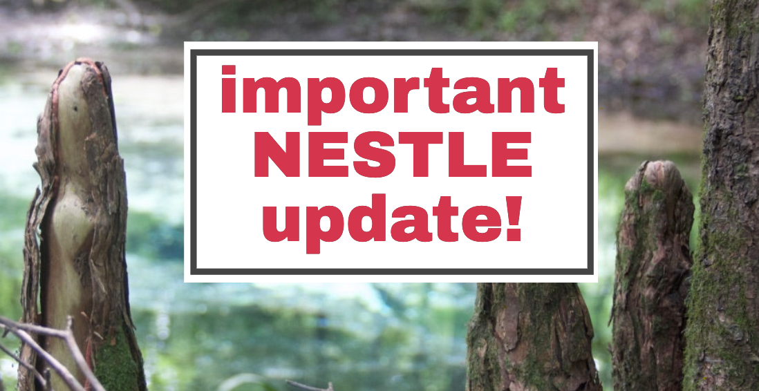 3a1f63e3 403c 4333 b01e 589ab6b036f5 In: IMPORTANT SEVEN SPRINGS/NESTLE UPDATE | Our Santa Fe River, Inc. | Protecting the Santa Fe River in North Florida