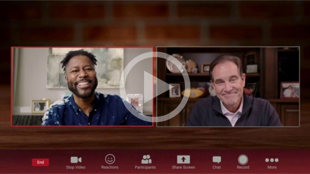Pizza Hut TV Commercial, 'Getting Ready' Featuring Jim Nantz, Nate Burleson