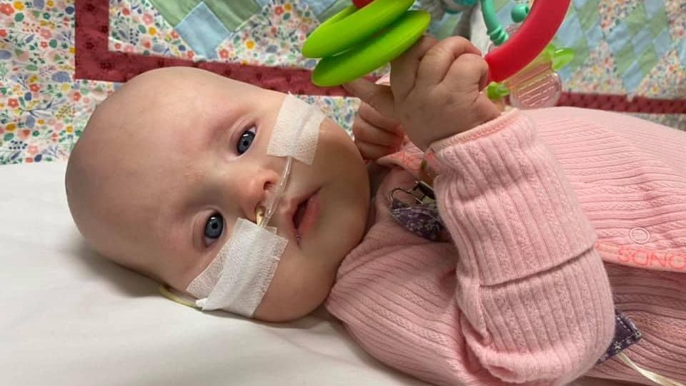 Please pray for Baby Imogen Rea and her parents and sisters