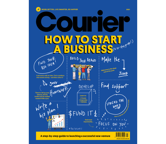 Courier Magbook How to Start a Busuness