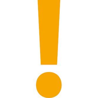 Symbolbild: Ausrufezeichen; Bild: ufuq.de