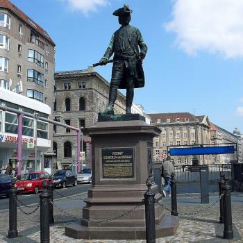 Symbolbild Standbild von Fürst Leopold von Dessau in Berlin; Bild [M] Phaeton1/Wikipedia