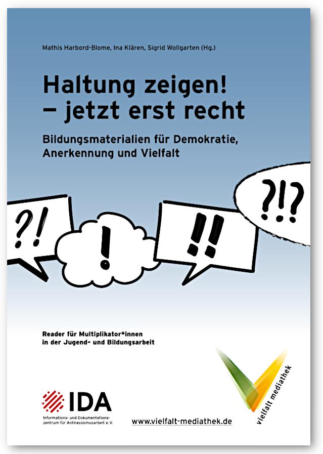 Cover der IDA-Publikation Haltung zeigen