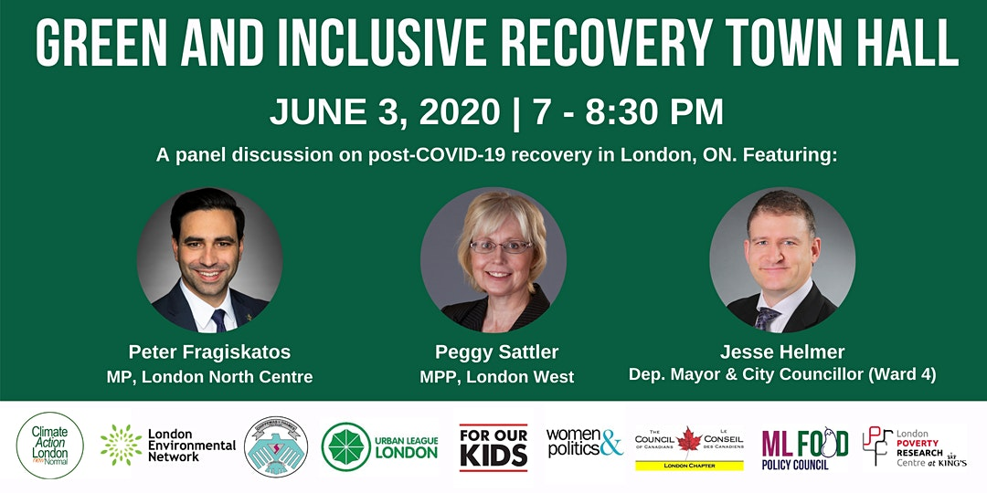 Green and Inclusive Recovery Town Hall