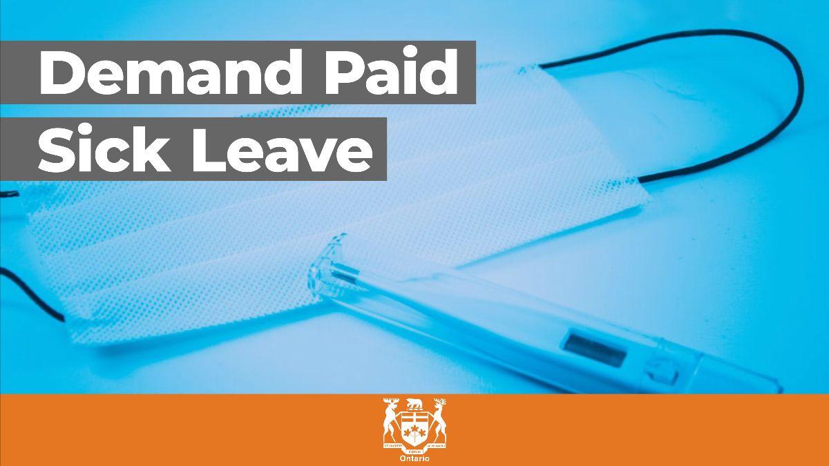 Demand Paid Sick Leave