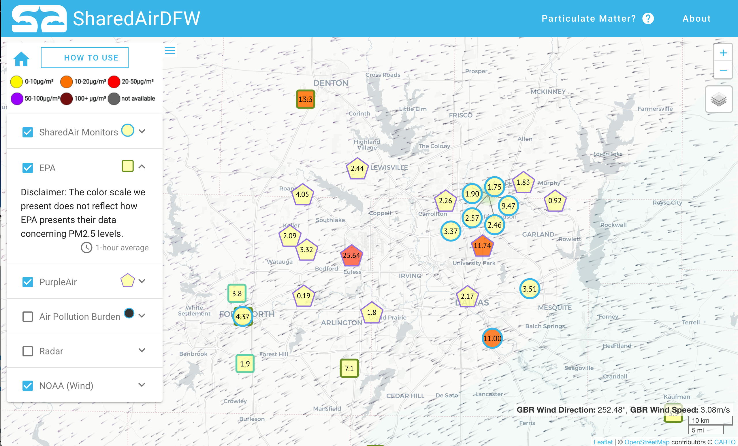ICYMI: Media coverage of our new SharedAirDFW air monitoring network