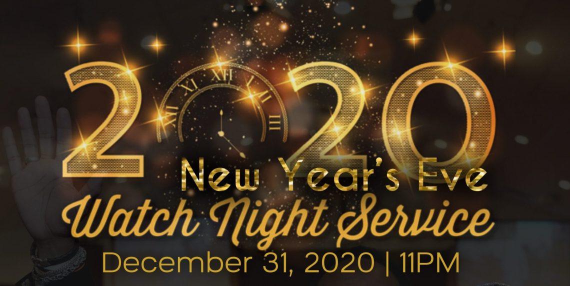 New Year's Eve Watch Night Service 2020