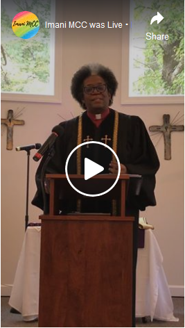 Pastor Marilyn preaching Sing! Sing Your Song! Part 1