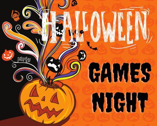 Halloween Games Night