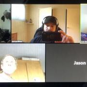 5 people in a Zoom meeting
