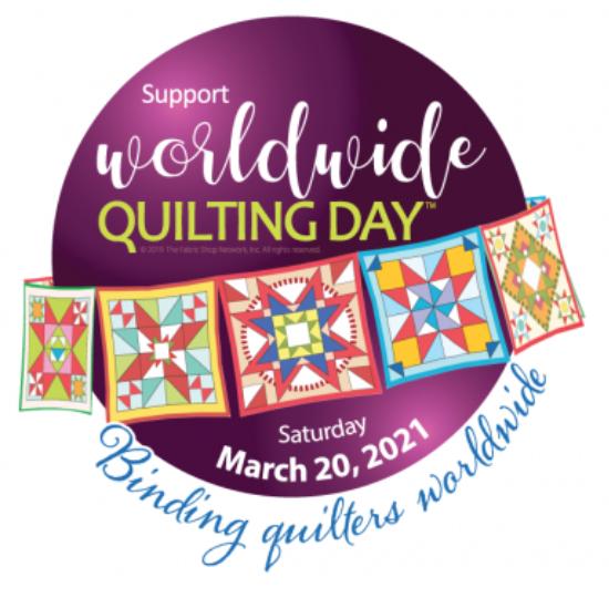 Worldwide Quilting Day Logo
