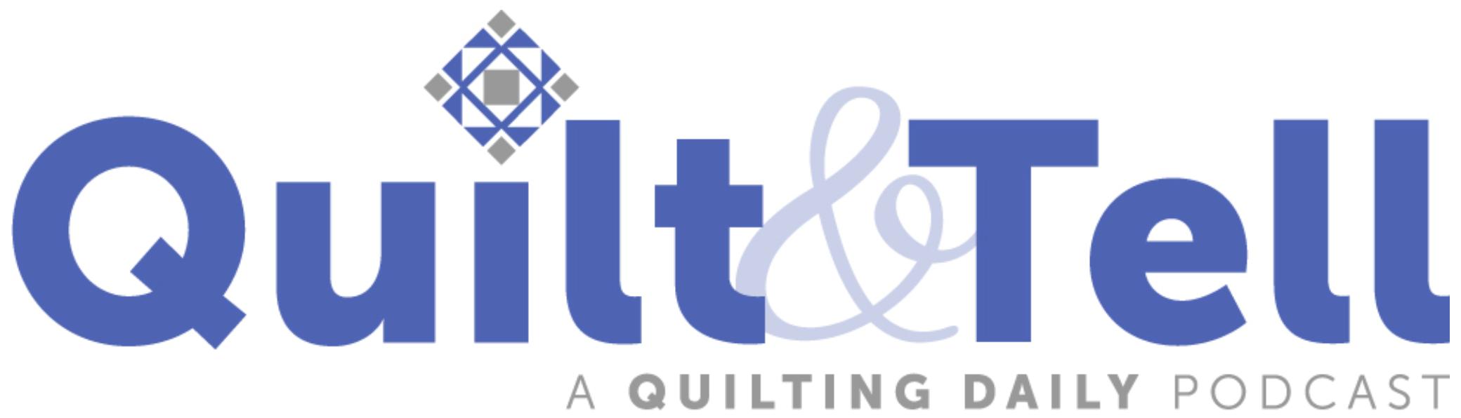 Quilt&Tell Podcast Logo
