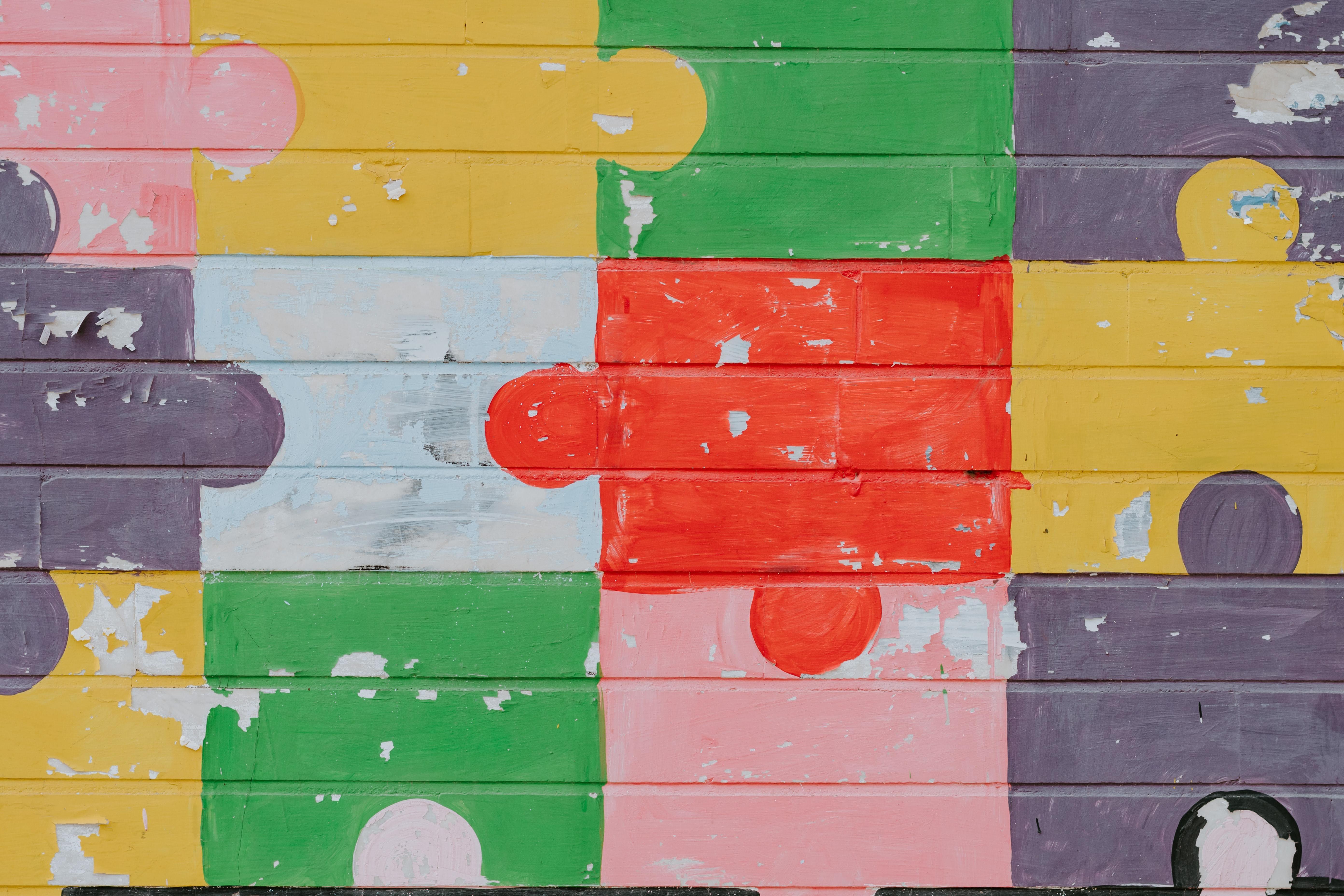 Colorful Puzzle Set