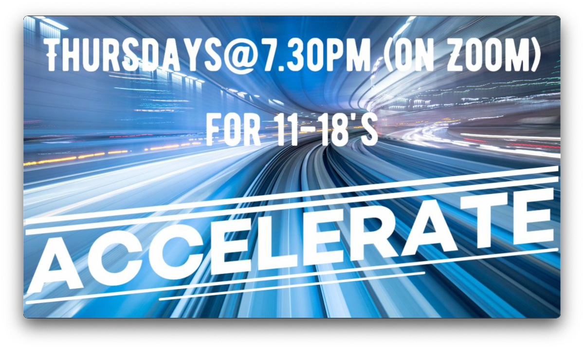 Accelerate for 11-18's