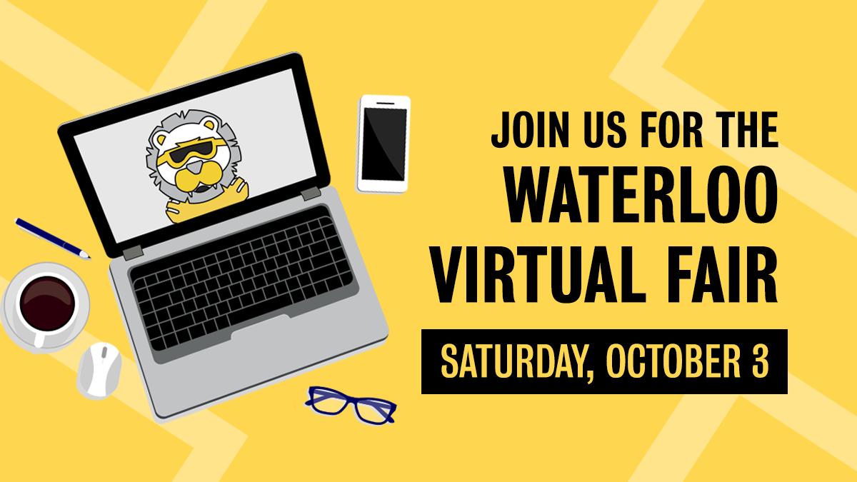 Waterloo Virtual Fair poster