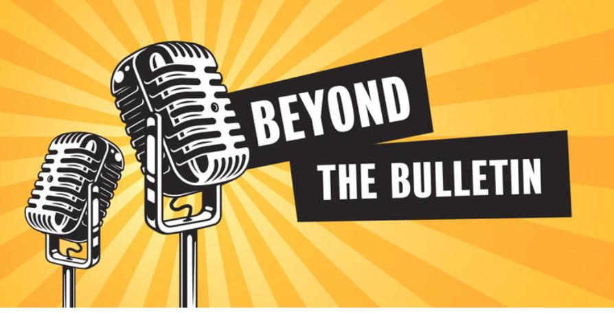 Beyond the Bulletin banner