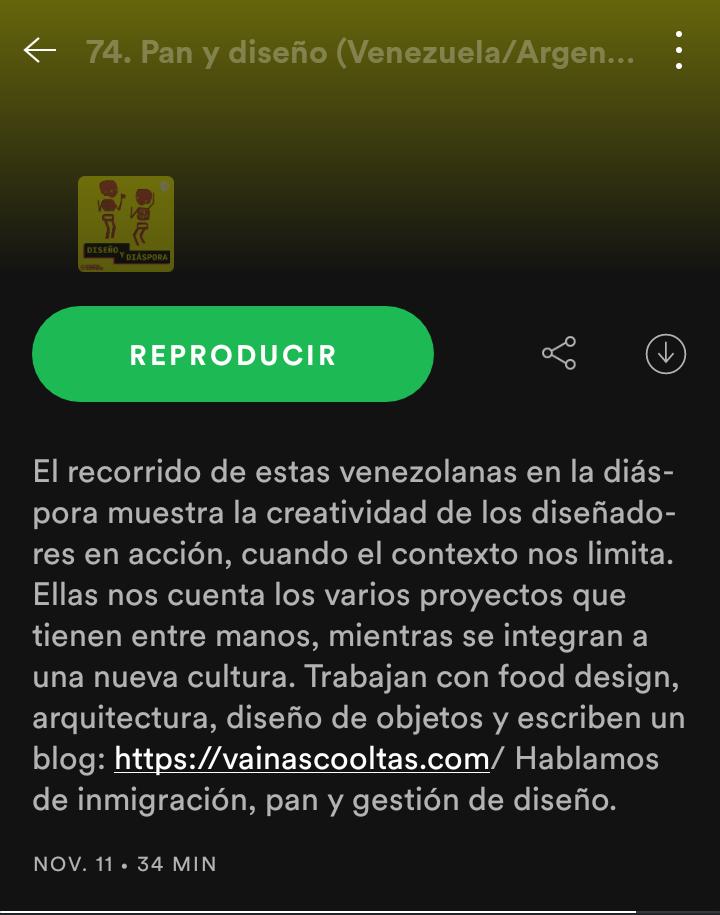 Podcast Diseño y diáspora