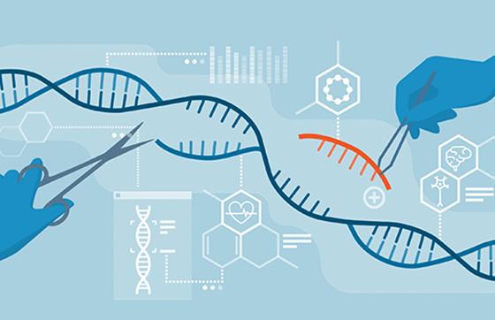 Illustration of CRISPR