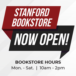 Bookstore now open