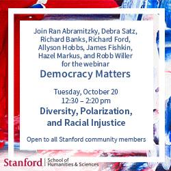 Democracy Matters event October 20