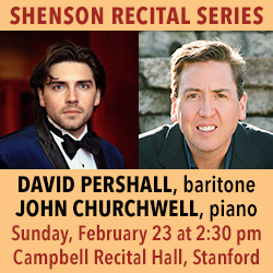 Shenson Recital Series Feb 23