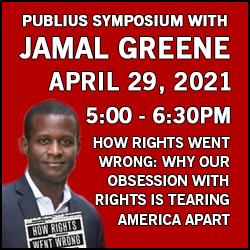 Constitutional Law Publius Symposium