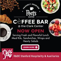 Clark Center coffee bar