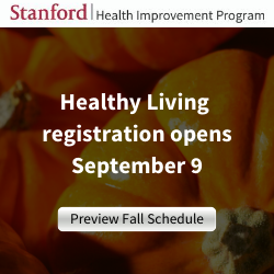 Healthy Living class registration