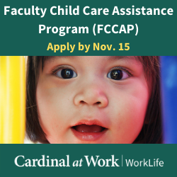 Faculty Child Care Assistance