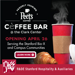 Bio-X/Clark Center Peet's Coffee shop