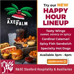 TAP new Happy Hour menu