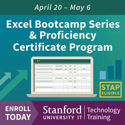 Tech Training Ad Excel Bootcamp