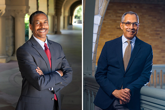 Patrick Dunkley and Claude Steele