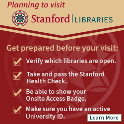 Stanford Libraries: Entry Requirements