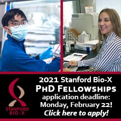 Bio-X PhD Fellowship applications
