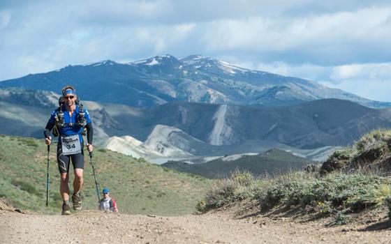 Ultramarathon runner