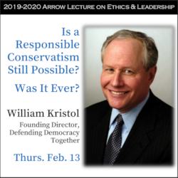 Ethics Center's Arrow Lecture