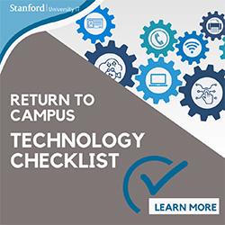 Return to campus technology checklist