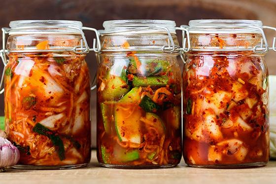 Fermented kimchi