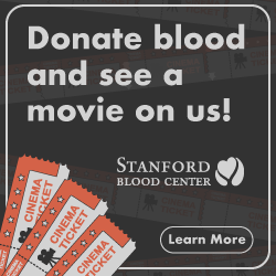 Donate blood, see a movie