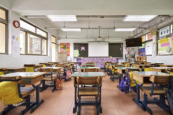 Inside of classroom