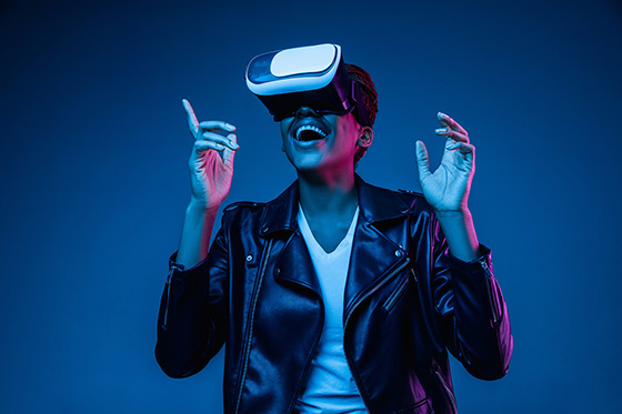 Future VR with high-res OLED