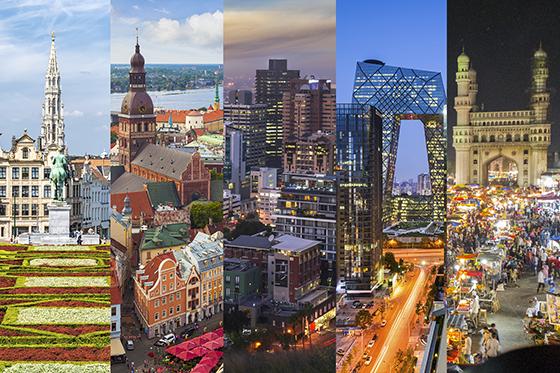 Virtual internships around the world