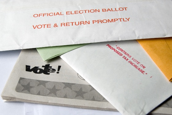 Vote by mail envelopes