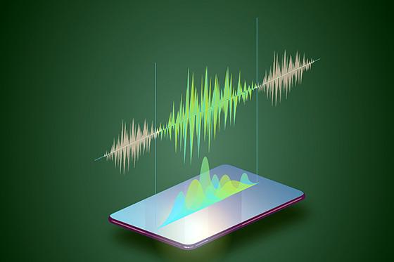 Diagram illustrating speech recognition