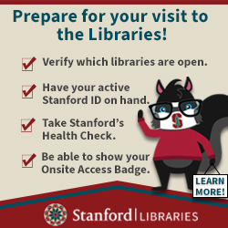 Stanford Libraries - Library Start