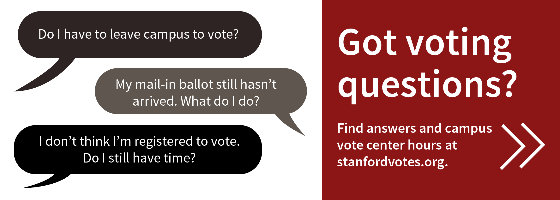 Stanford Votes information
