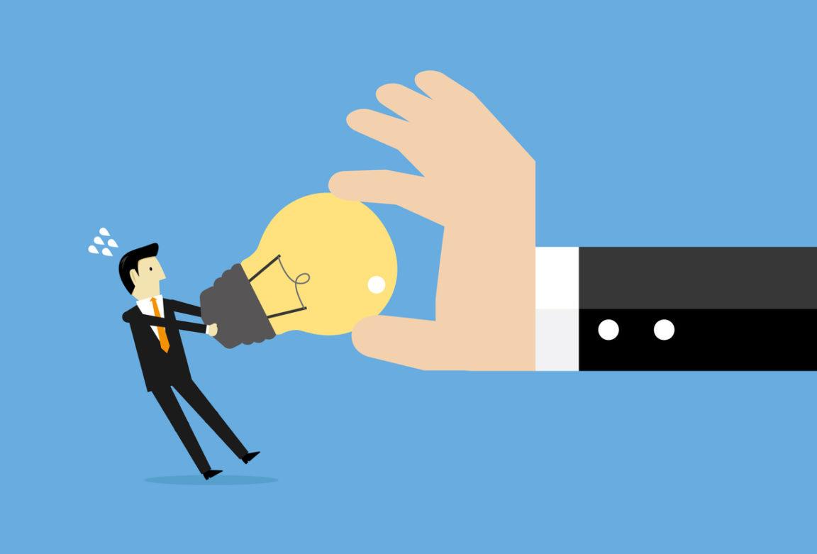 Intellectual property illustration
